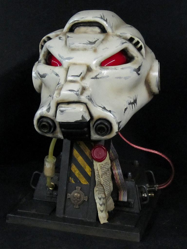 Terminator Helmet Finished Front