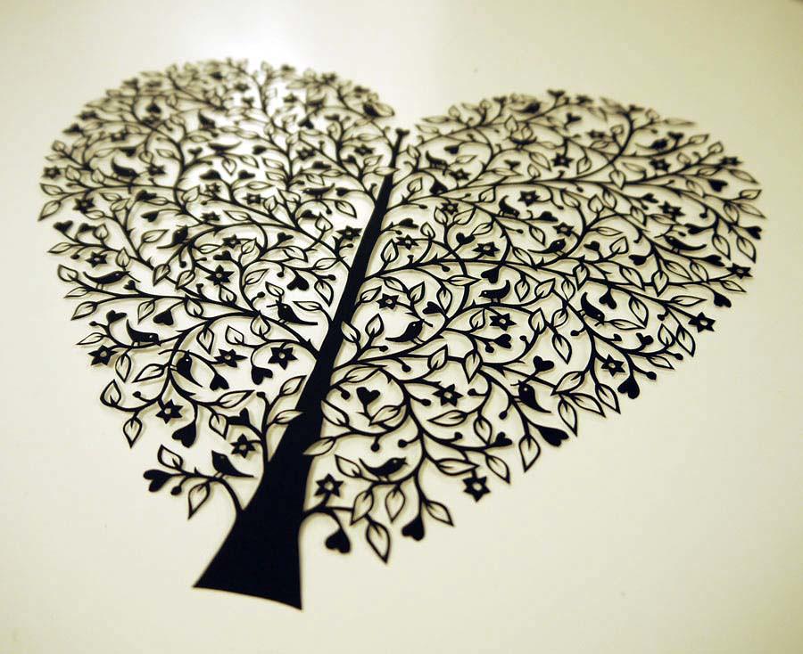 Tree of Life papercut