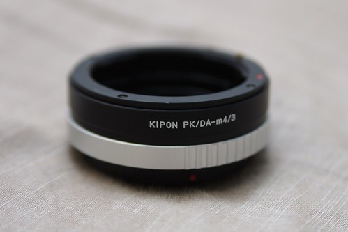 KIPON PK/DA-m4/3 本体