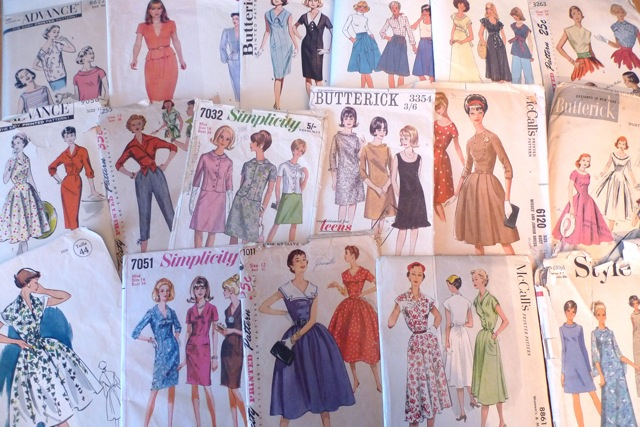 Tilly And The Buttons How Do You Store Your Vintage Sewing Patterns