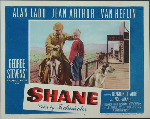 Number 190 Shane (1953)