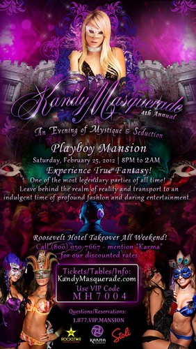 Kandy Masquerade 2012 The Playboy Mansion Vipexclusives Flickr