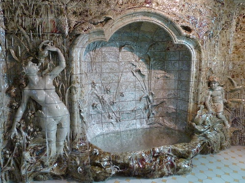 Ceramic Grotto at the Musee de l'Ecole de Nancy