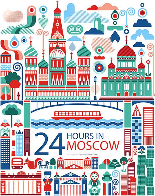 24 horas en Moscu