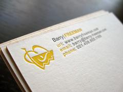 Barry Freeman Photographer Cards