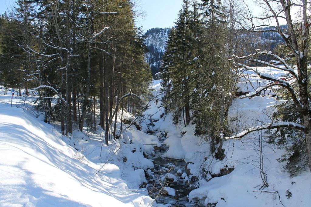 Iffigenfall trail  , Lenk im Simmental