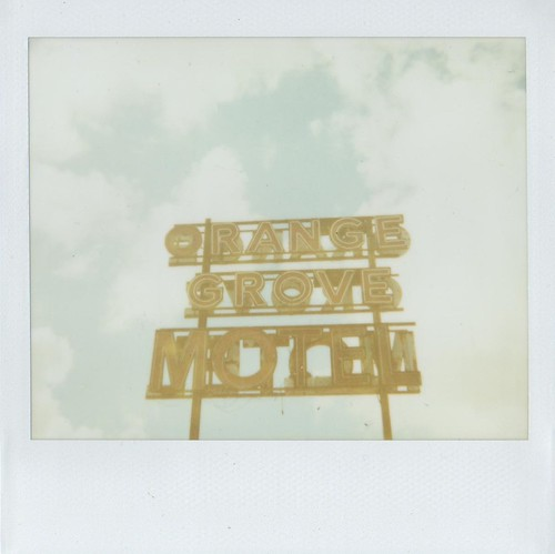 Orange Grove Motel Sign