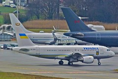 Ukraine Government Airbus A319-115X (CJ); UR-ABA@ZRH;25.01.2012/637bx