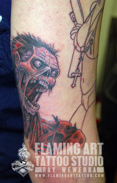 Boog Faces Sleeve Tattoo Flickr Sharing Pictures