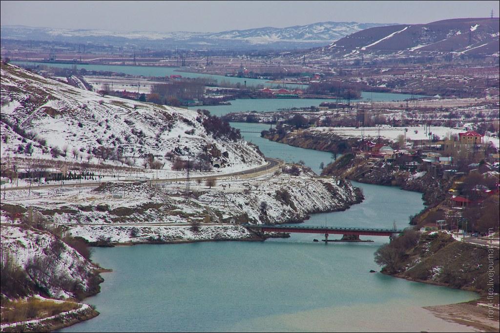 река Чирчик, Узбекистан .