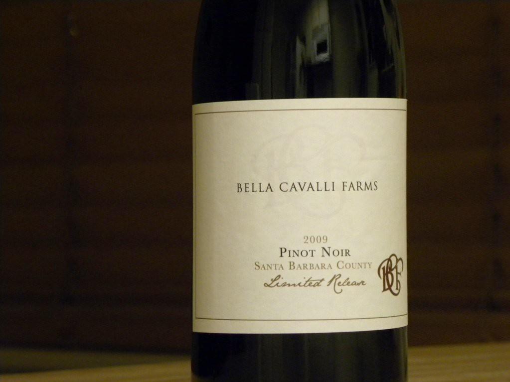 bella2009pinot