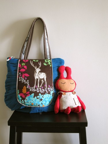 Woodlands Tote & PippiRabbit by PippiRabbit
