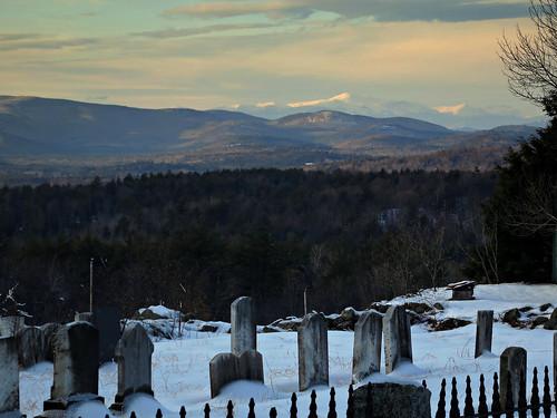 sunset mountain cemetery grave maine whitemountains mountwashington parsonsfield
