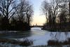 Schloss Charlottenburg im Winter