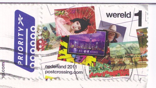 Netherlands Postcrossing Stamp