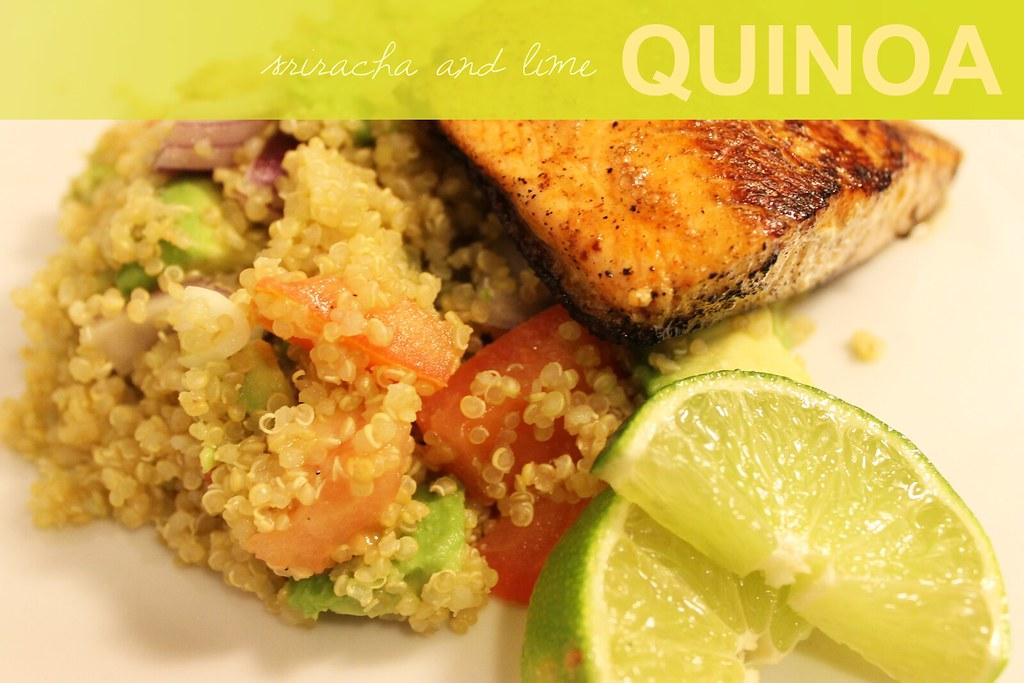 sriracha lime quinoa