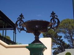 Cast Iron Urn at Martindale