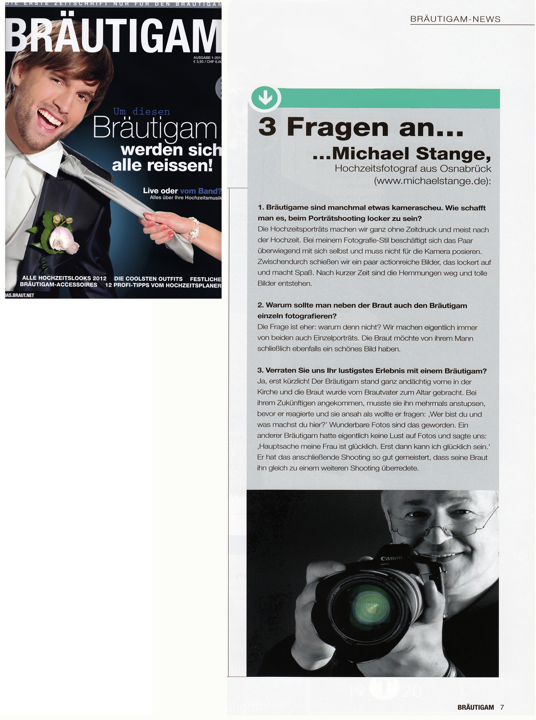 Bräutigam-magazin