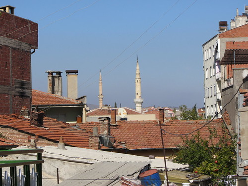 Balikesir: roofs and minarets