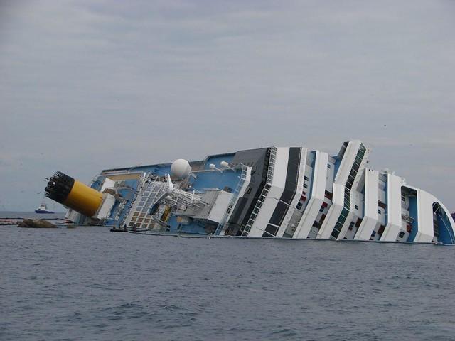 Costa Concordia accident, Giglio, Italy 2012