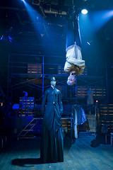 Wed, 2010-02-10 08:07 - Death and Harry Houdini - Kevin Stangler, Dennis Watkins, Lighting Design by Ben Wilhelm
