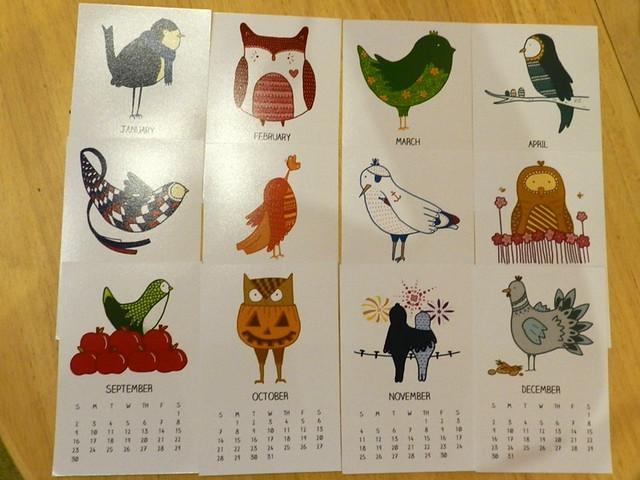 birdy calendar