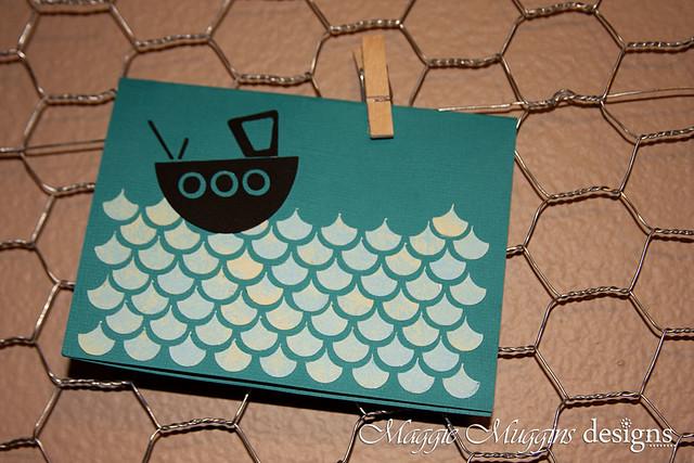 Tug Boat Card