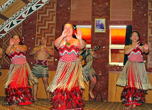 Maori Cultural Performance Te Puia Rotorua