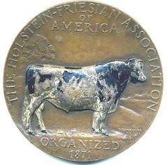 Gozo Kawamura Cow Medal