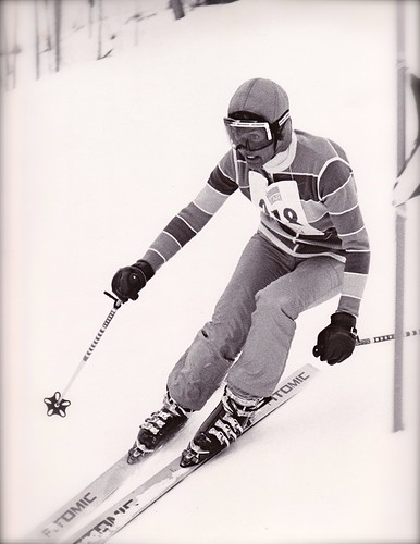 Nancy Kindel ski racer!