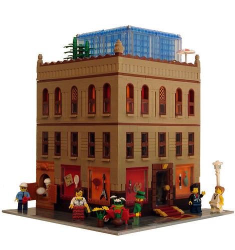 LEGO Collectable Corner - Minifig Maison