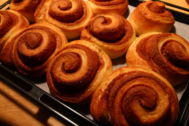Cinnamon Rolls Baked 2