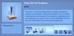 Glass Act Art Sculpture