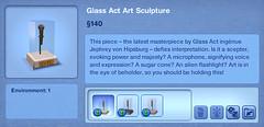 Glass Act Art Sculpture