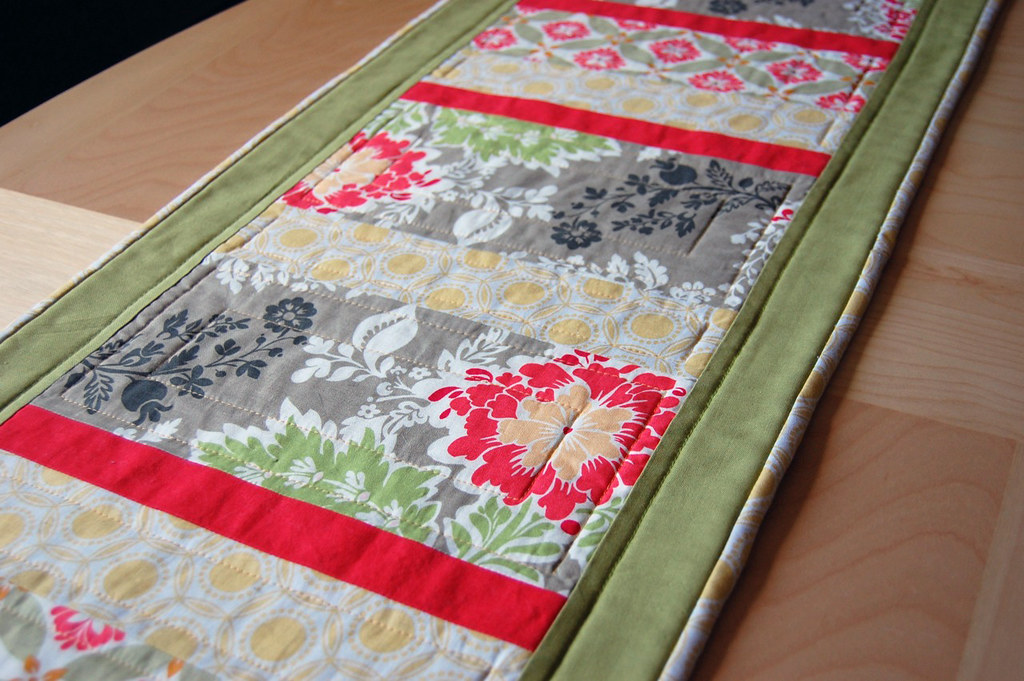 Secret Garden Table Runner