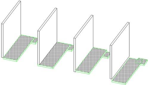 Las lineas de suelos quedan sobre las líneas de los muros 6837640861_062ffaa1bf