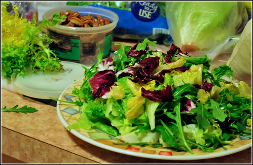 Edible Organic Green Tea Salad