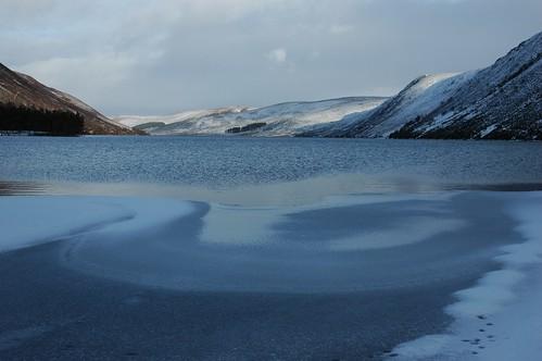 Looking back down Loch Muick