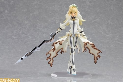 Fate / Extra CCC Virgin White Box - Saber Bride figma preview