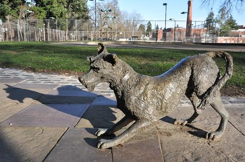 Ribsy statue