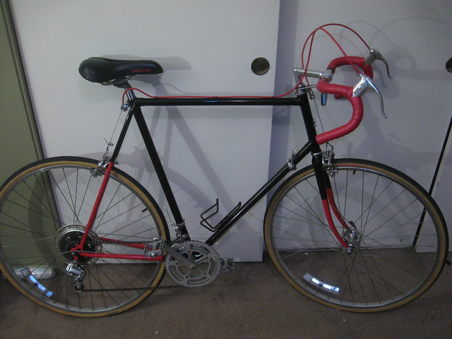 1981 Univega Gran Turismo, repainted and brought back to perfect function.