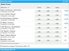 Sportingbet Football Betting