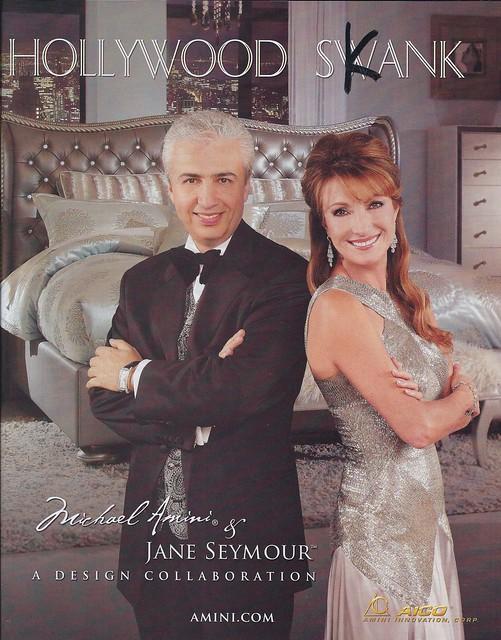Hollywood Swank Michael Amini & Jane Seymour STUPID AD STUPID ADS drollgirl