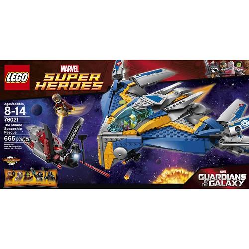 LEGO Marvel 76021 Front