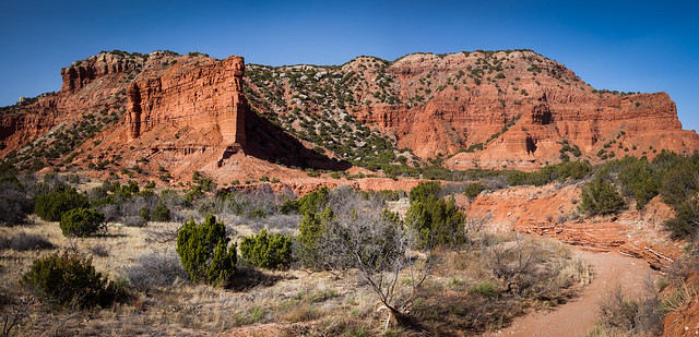 Caprock Point, South Prong Campground, Caprock Canyons State Park