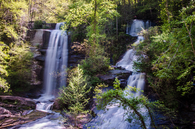 Twin Falls, AKA Reedy Cove Falls