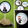 Go Rule the World!! Yep, these fun tags have been updated for 2014 Graduation!! If you know a Star Wars fan graduating, you will love these cute free printable party tags. They are perfect for cupcake toppers, gift tags, straw tags, and other fun decorati