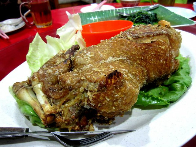 Lutong Cafe, Miri crispy pata