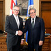 Secretary General Meets with Minister of Foreign Affairs of Costa Rica