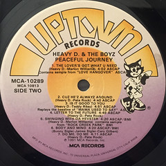 HEAVY D & THE BOYZ:PEACEFUL JOURNEY(LABEL SIDE-B)